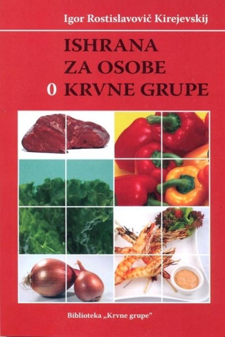 krvne grupe i ishrana knjiga